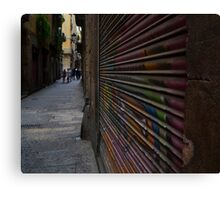 Alley Art Canvas Print