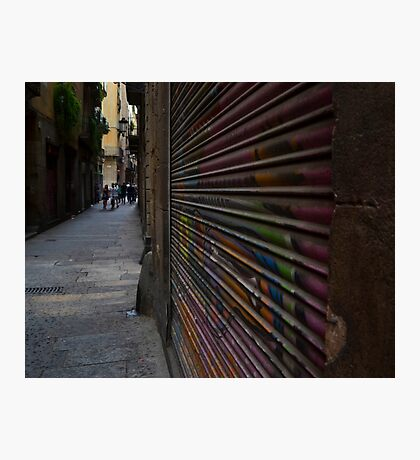 Alley Art Photographic Print