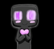 chibi enderman by maplemoose
