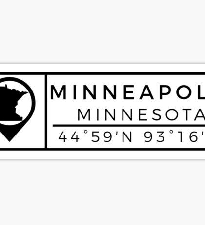 Minneapolis Sticker