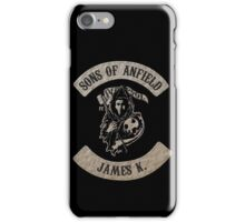 Sons of Anfield - James K. iPhone Case/Skin