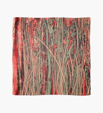 Qualia's Grass (Antique Red) Scarf