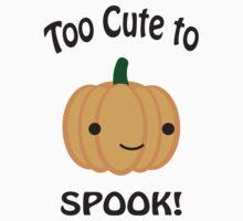 Too Cute to Spook! Adorable pumpkin Baby Tee
