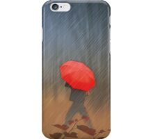 When The Rain Comes iPhone Case/Skin