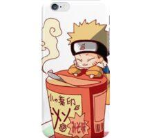 Naruto with Ramen iPhone Case/Skin