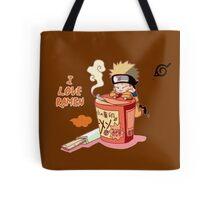 Naruto with Ramen Tote Bag