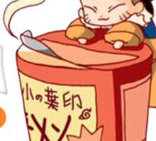 Naruto with Ramen Sticker