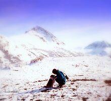 Camping at Matanuska Glacier by Charmiene Maxwell-batten