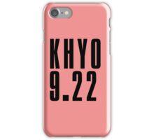 KHYO - Black iPhone Case/Skin