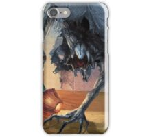 alien on the wall iPhone Case/Skin