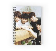 seventeen performance team Spiral Notebook