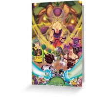 the namek saga  Greeting Card