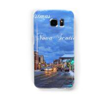 Merry Christmas from Yarmouth Nova Scotia Samsung Galaxy Case/Skin