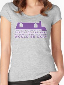 Next To Normal - House Women's Fitted Scoop T-Shirt