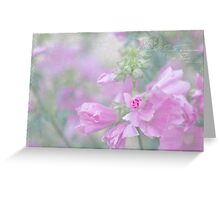 Odd Stemmed Wild Flower  Greeting Card