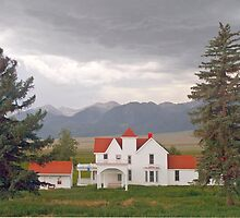 Colorado Farmhouse by Peter Sucy