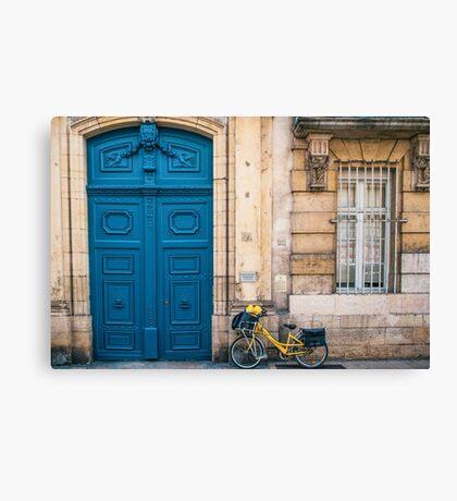 Dijon, Burgandy France Canvas Print