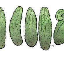 Cucumbers by Yael Kisel