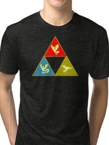 Kanto's Legendary Triforce 2.0 Tri-blend T-Shirt