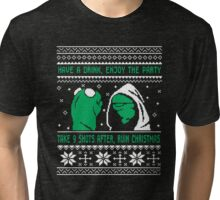 Ugly Christmas Sweater Tri-blend T-Shirt