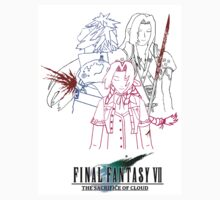Final Fantasy VII The Sacrifice Of Cloud 'Blood Of Pain' by FFSteF09
