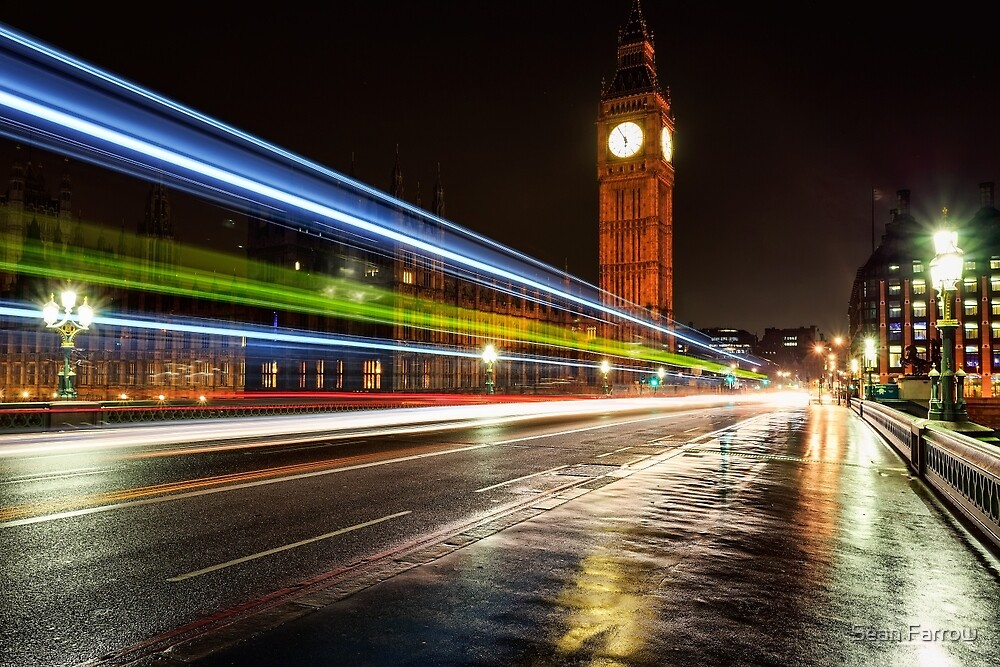 Swerve City - London, England by Sean Farrow