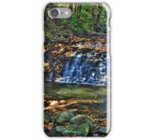 Waterfall, South Elgin Illinois iPhone Case/Skin