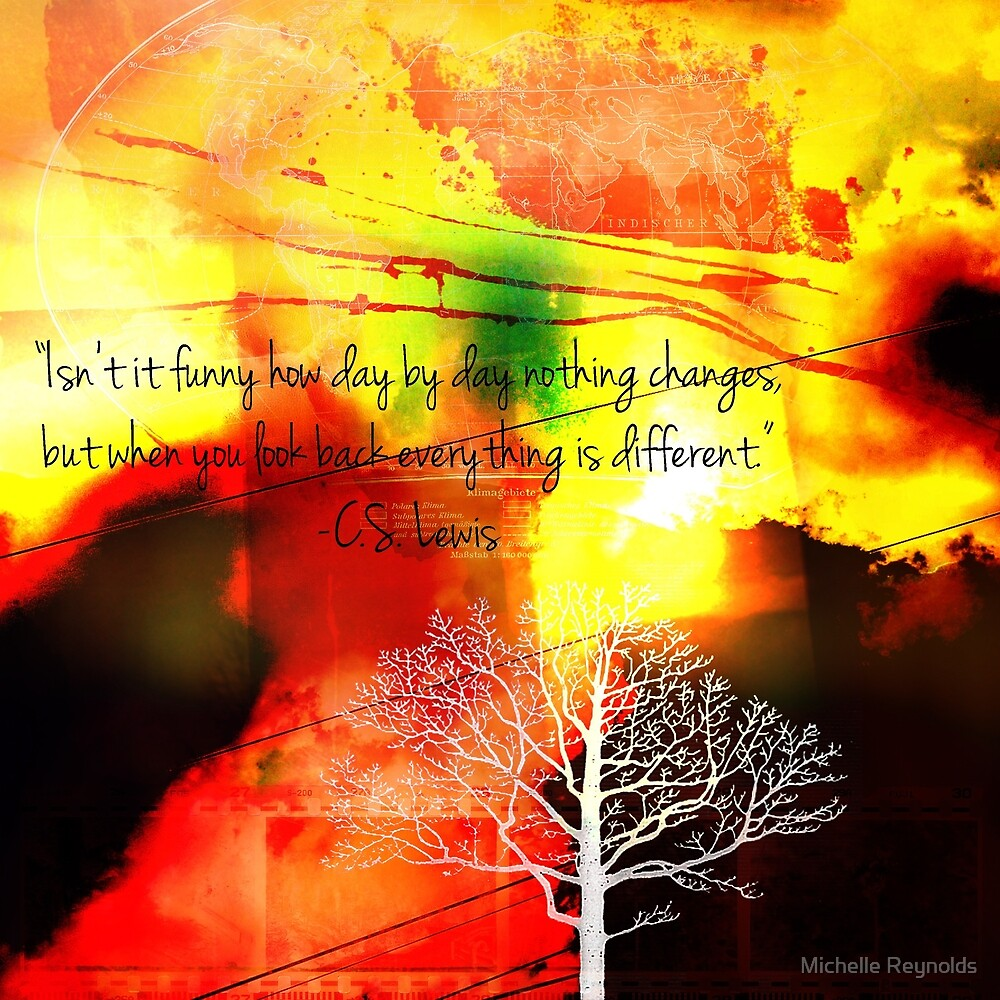 Everthing Is Different by Michelle Reynolds