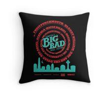 Big Bad Sunnydale Throw Pillow