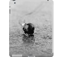 On the Fast Track to Nowhere iPad Case/Skin