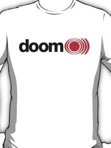 doom o))) - black&red T-Shirt