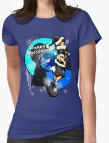 Happy Holidays! - Sora [KH] Womens Fitted T-Shirt