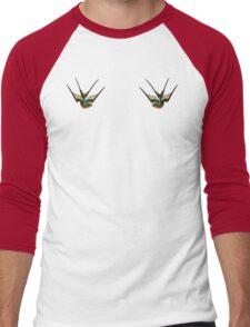 Swallows  Men's Baseball ¾ T-Shirt