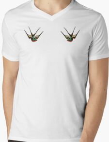 Swallows  Mens V-Neck T-Shirt