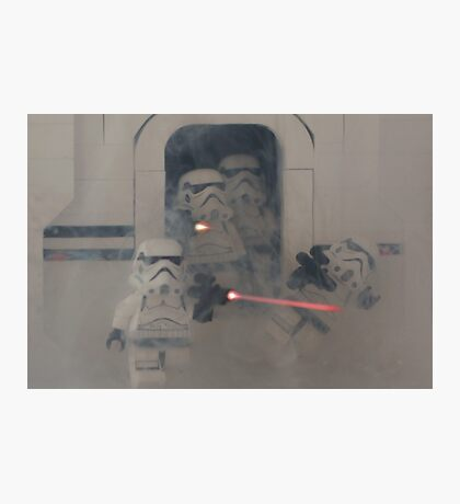Tantive IV - Stormtroopers Attack! Photographic Print