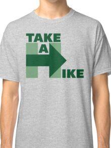Take A Hike (Green) Classic T-Shirt