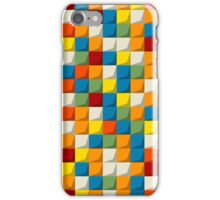 Colored mosaic seamless pattern iPhone Case/Skin