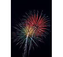 Pyrotechnic Colors Photographic Print