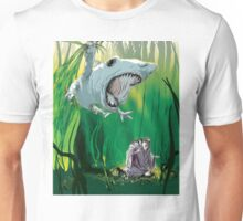 """The Boneshark Versus The Hideous Sad"" Unisex T-Shirt"