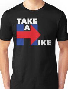 Take A Hike (White) Unisex T-Shirt