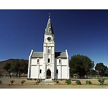 Dutch Reform Church - Nieu Bethesda, Sth Africa Photographic Print