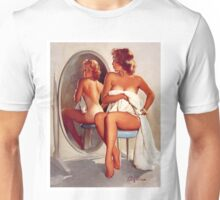 Retro - Sexy Pin Up Girl  Unisex T-Shirt
