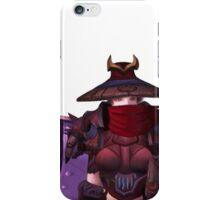 Masked Paladin iPhone Case/Skin