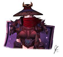 Masked Paladin by jcdesign003