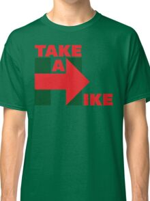 Take A Hike (Red/Green Christmas) Classic T-Shirt