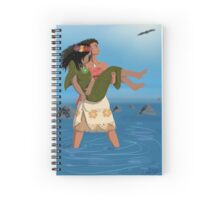 She Saves The Earth (Literally) Spiral Notebook