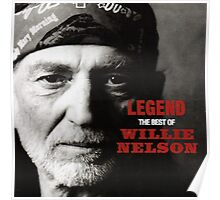 Legend Of The Willie Nelson Poster