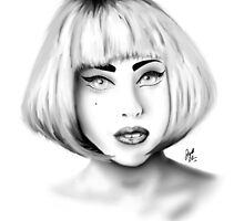 Lady Gaga - Portrait 01 by jcdesign003