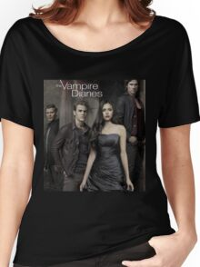 The Vampire Diaries Cover Women's Relaxed Fit T-Shirt