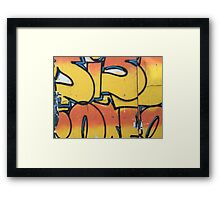 NYC Graffiti #2 Framed Print